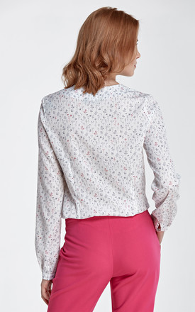 Retro blouse with bow by so.Nife