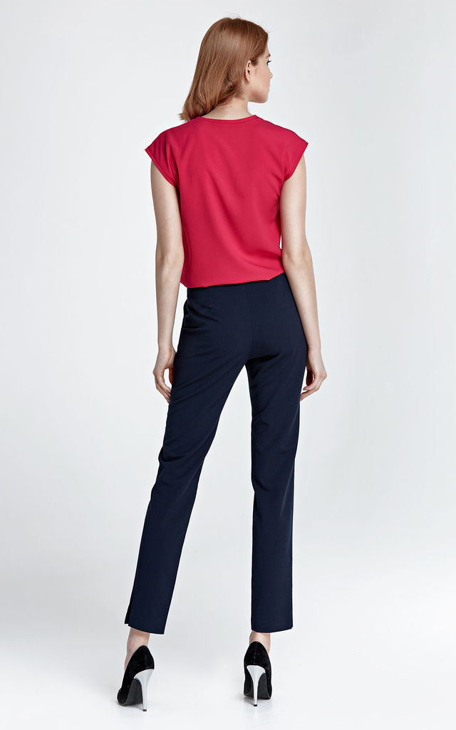 Elegant pants with cut by Nife