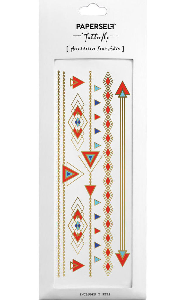Deco Deco 2 Festival Temporary Tattoo by PAPERSELF