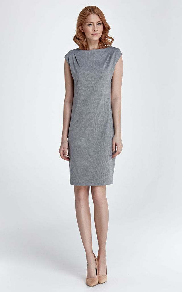 Dress Eva - grey by Nife