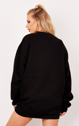 ULTIMATE BOYFRIEND JUMPER BLACK by Cats got the Cream
