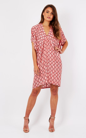 Pink Snake Print Tunic by Ruby Rocks Product photo