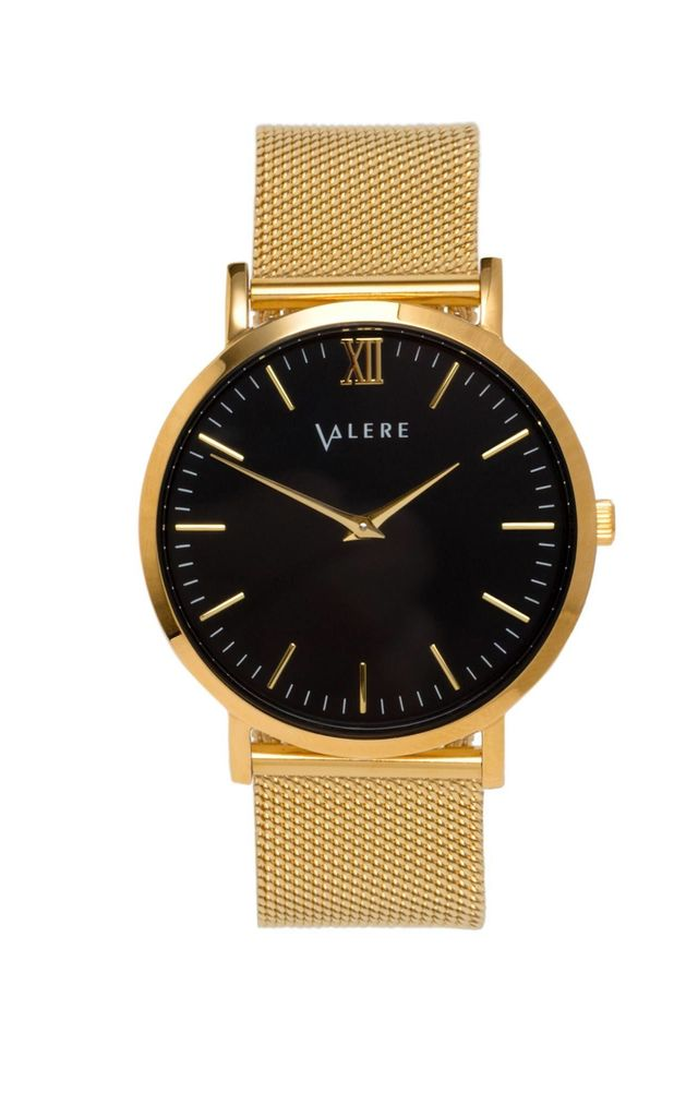 Primus Gold with Gold Mesh Strap by VALERE LONDON