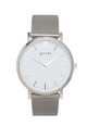 Primus Silver with Mesh Strap by VALERE LONDON