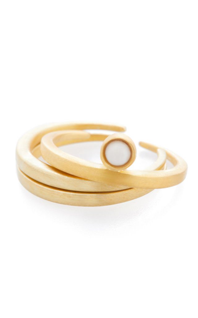 GOLD ANIMII STACK RINGS by FERA Jewellery