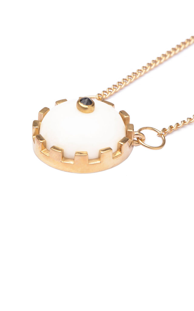 GOLD NAZCA PENDANT by FERA Jewellery