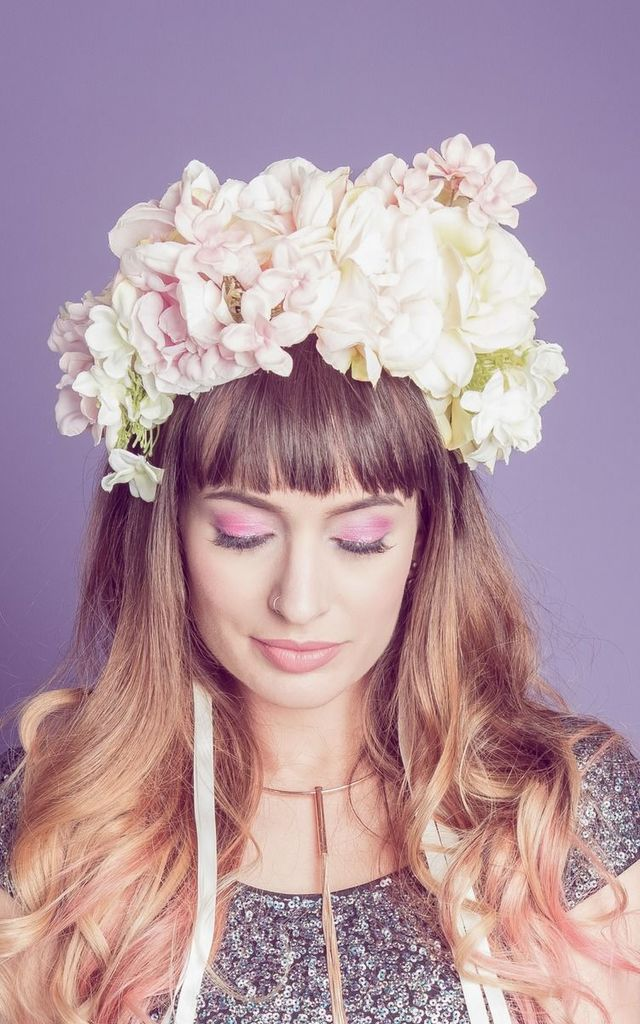 Pastel Ombre Crown by GG's Pin-up Couture