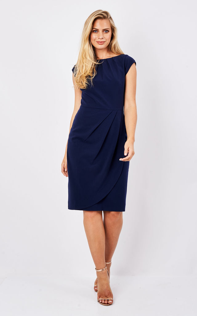 Navy Rosalyn Dress by Havren