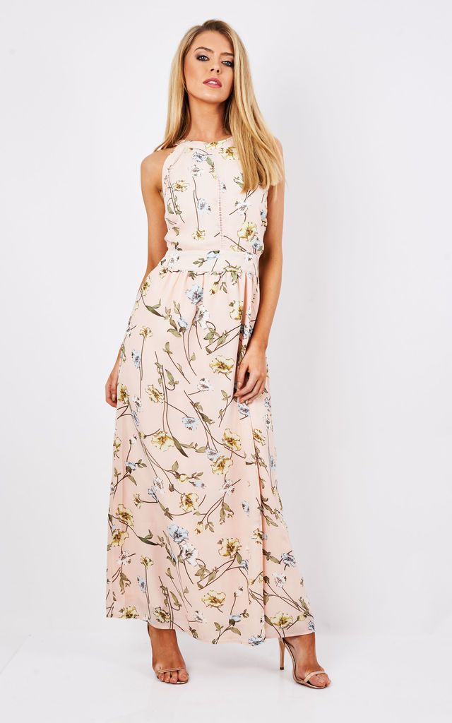 FLORAL MAXI DRESS by Madam Rage
