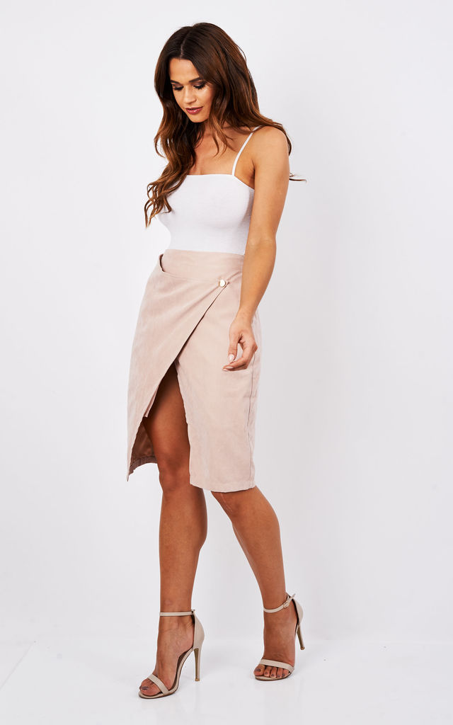 6581dd970c75 SUEDE ASYMMETRIC SKIRT by Madam Rage