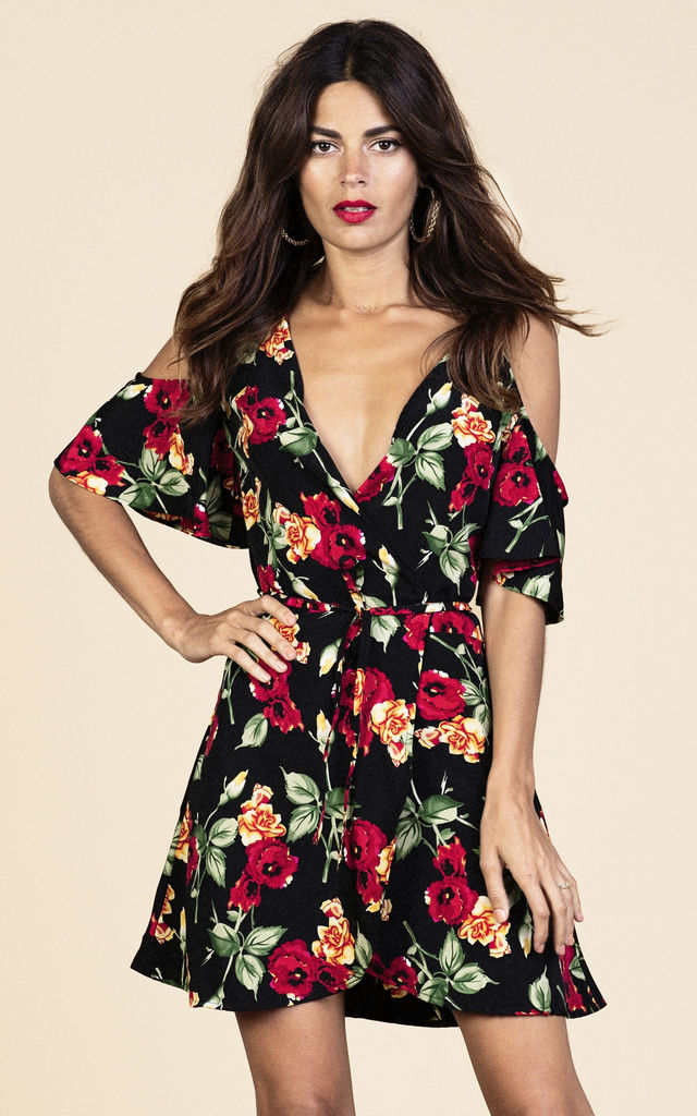 Marlin Dress in Wild Rose image