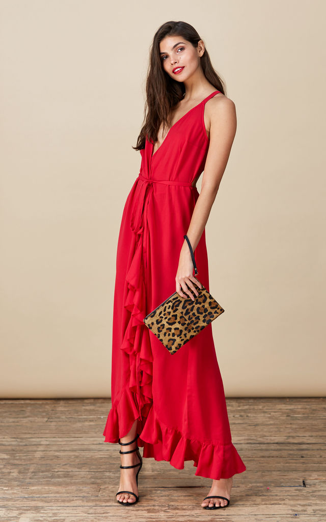 Dolce Vita Dress in True Red  image