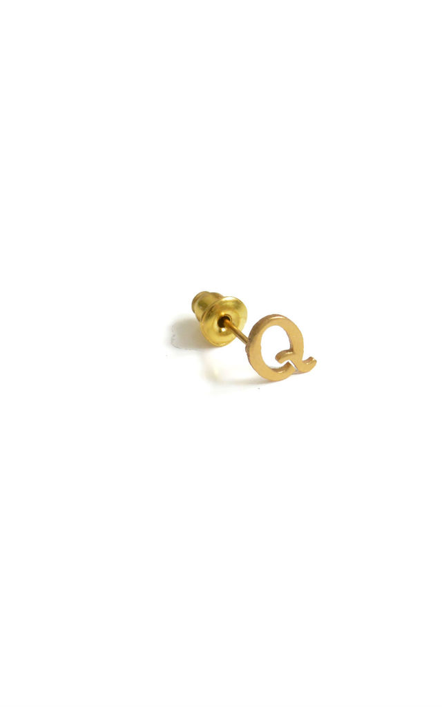 Q 18ct Quintessential earring by Florence London