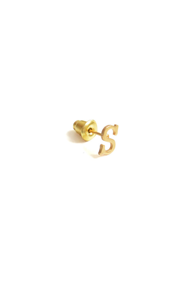 S 18ct Quintessential earring by Florence London