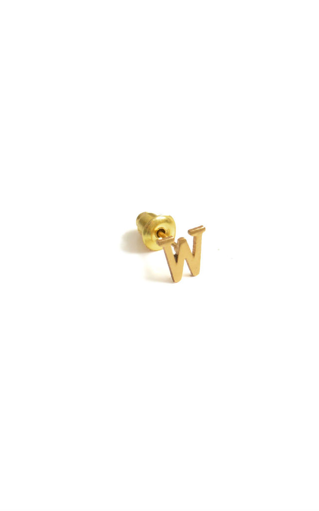 W 18ct Quintessential earring by Florence London