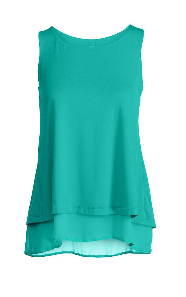 Layered Sleeveless Top by Conquista Fashion