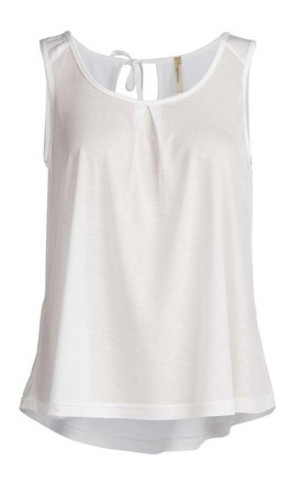 Round Neck Sleeveless Top by Conquista Fashion