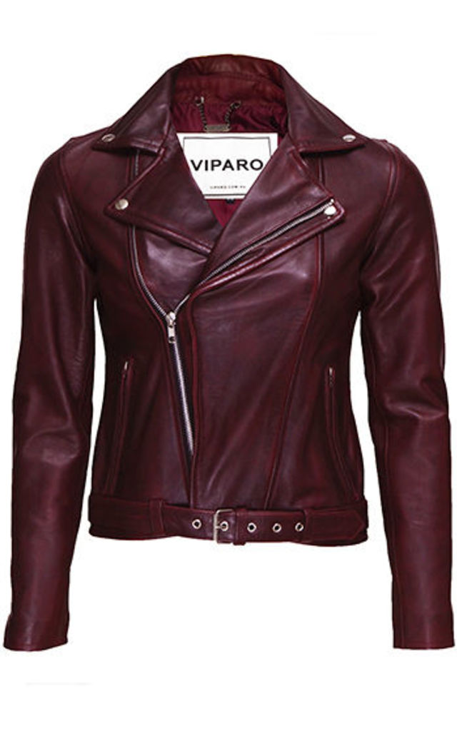Oxblood Red WB3 Jacket by VIPARO