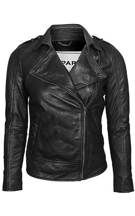 Black WB1 Jacket by VIPARO