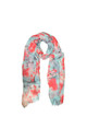 Flower and Blossom Print Scarf by White Leaf