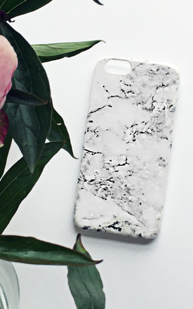 Monogram Marble print phone case by Rianna Phillips