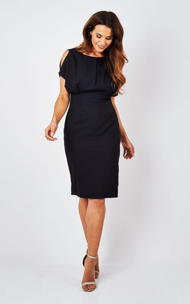 HADLEY DRESS BLACK by CLOVES AND LACE