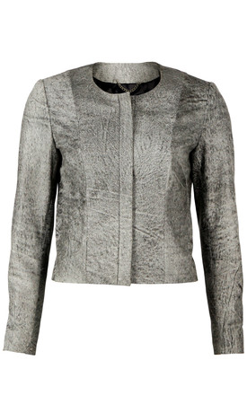 Distressed Iris Jacket by VIPARO