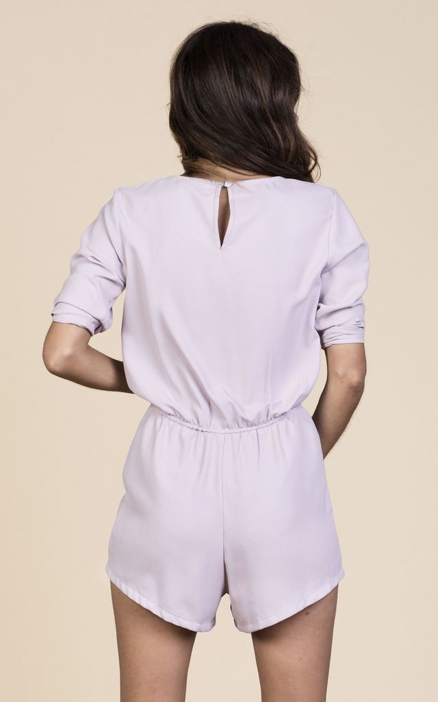 Tiago Playsuit in Mauve  image