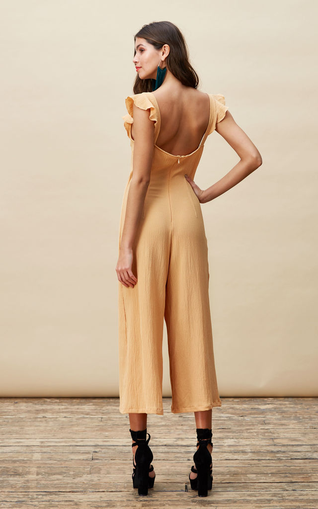 Pixie Jumpsuit in Mustard image