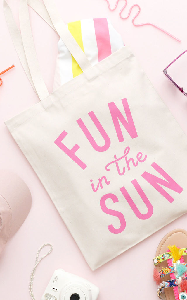 'Fun In The Sun' Tote Bag by Alphabet Bags