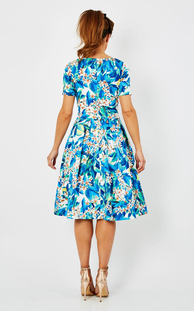 Floral Summer Midi Dress by Zoe Vine