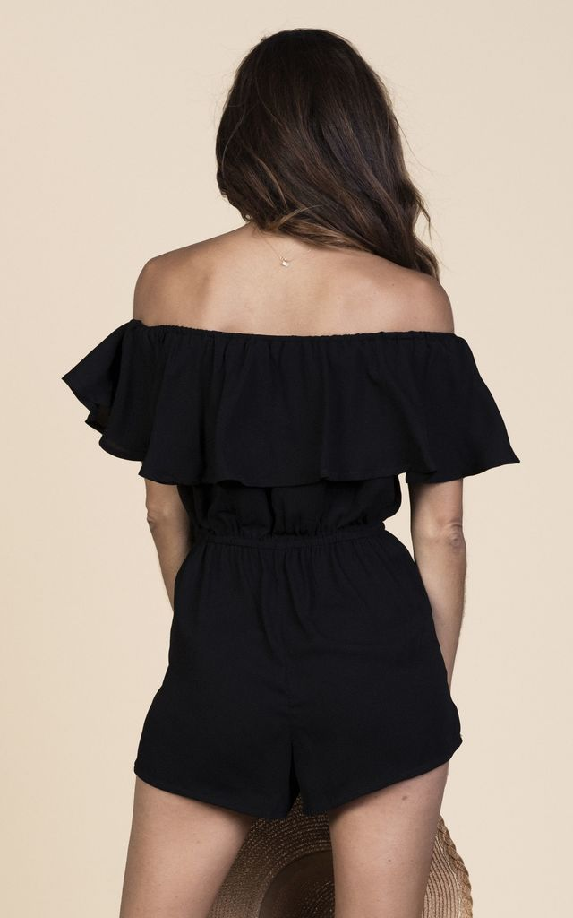Zola Playsuit in Black image