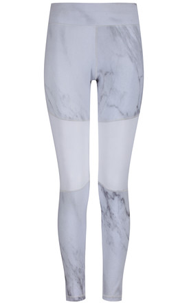Issy Gym Leggings in Marble Print by Cherie Bumble