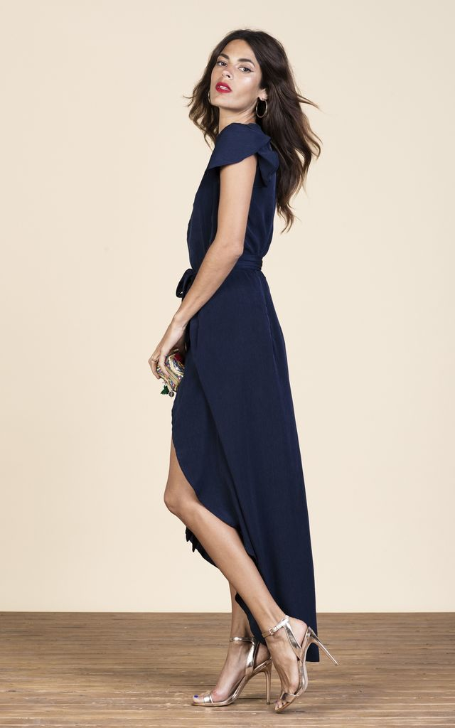 Cayenne Dress in Navy image