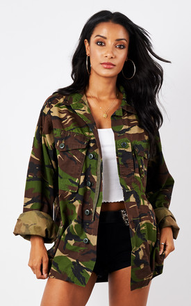 HIDE OUT CAMO JACKET by Cats got the Cream