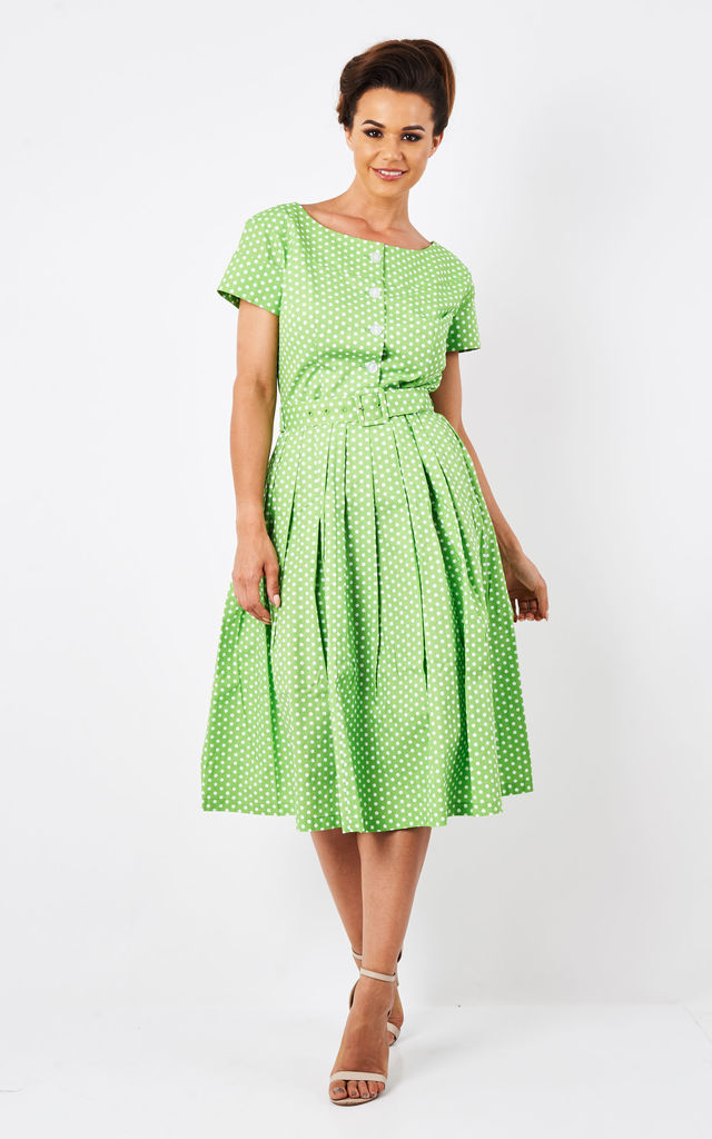 Isabelle - Polka Dot Summer Dress by Zoe Vine