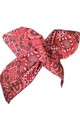Red Paisley Patch Wire HEadband by LULU IN THE SKY