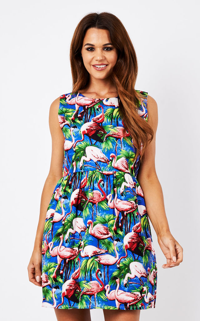 Flamingo Dress by Tallulah's Threads