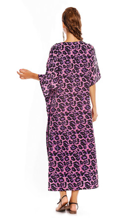 Ladies Kimono Summer Pool Beach Cover Up Maxi Kaftan by Looking Glam