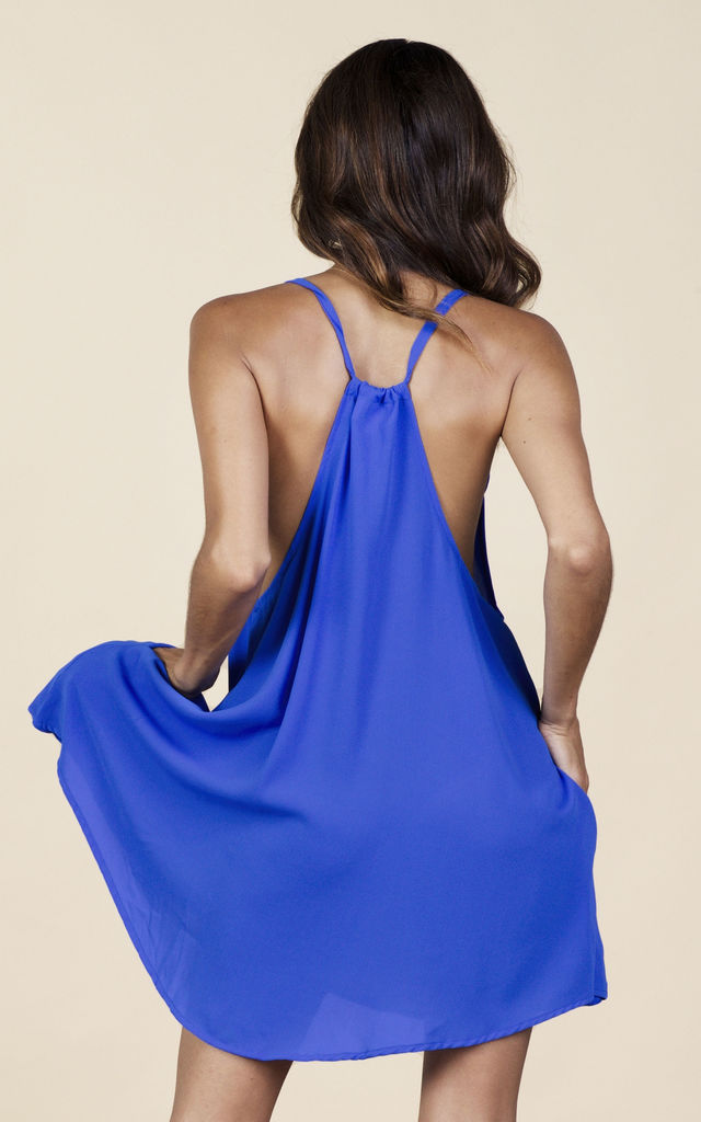 Samba Dress in Summer Blue image
