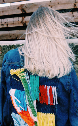 Vintage Customised Denim by Warm and The Wild
