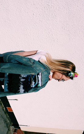 Cropped Vintage Denim by Warm and The Wild