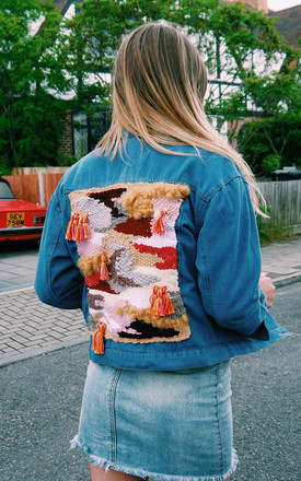 Vintage Custom Denim Jacket by Warm and The Wild