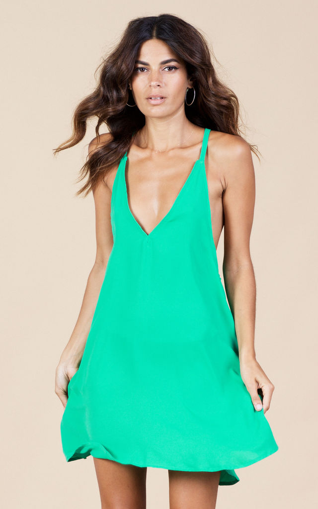 Samba Dress in Summer Green by Dancing Leopard