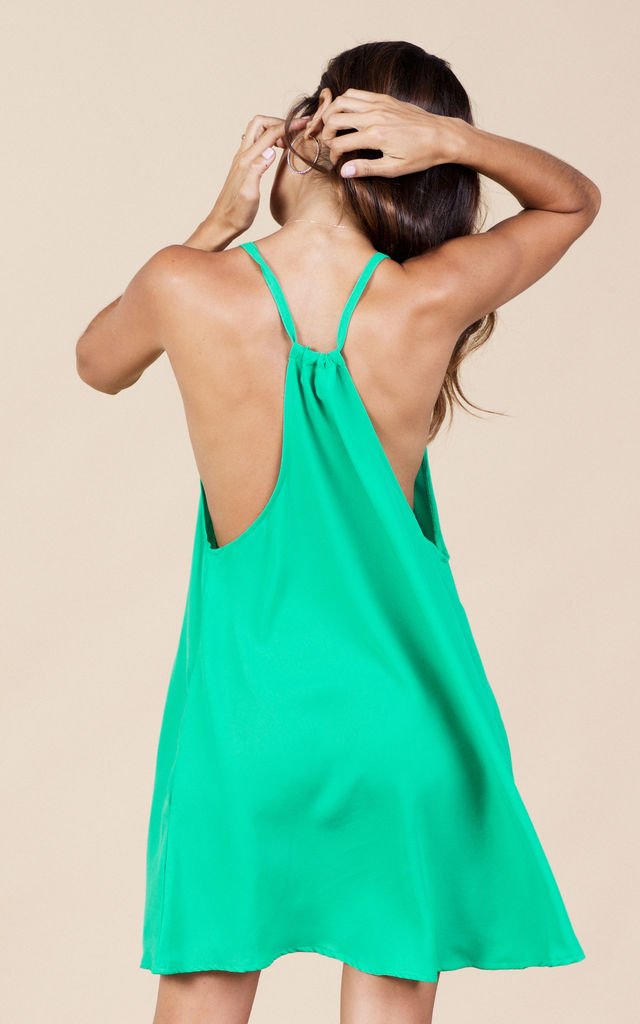 Samba Dress in Summer Green image