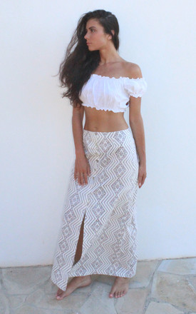 Aztec Maxi Skirt by I See You