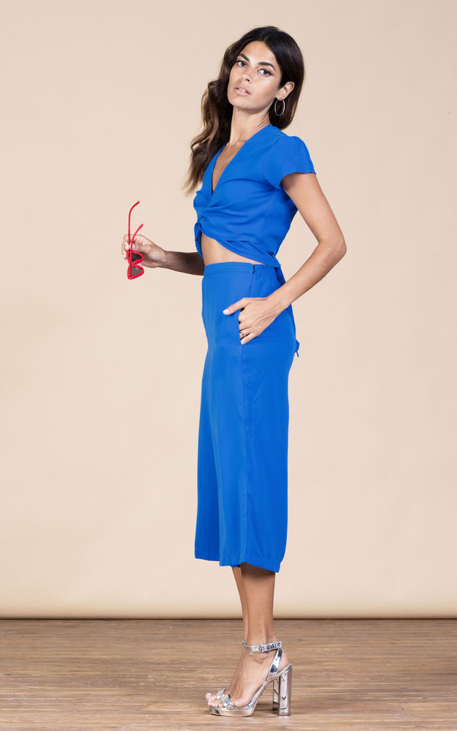 Coco Culottes in Summer Blue image