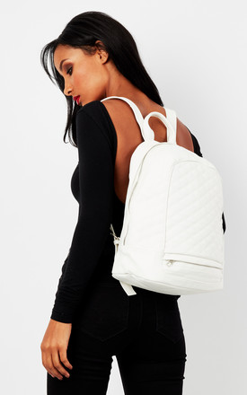 Liquorish White Back Pack by Liquorish Product photo