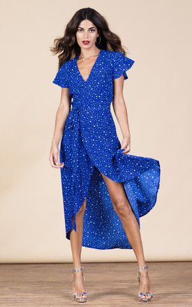 Cayenne Dress In Royal Star by Dancing Leopard Product photo