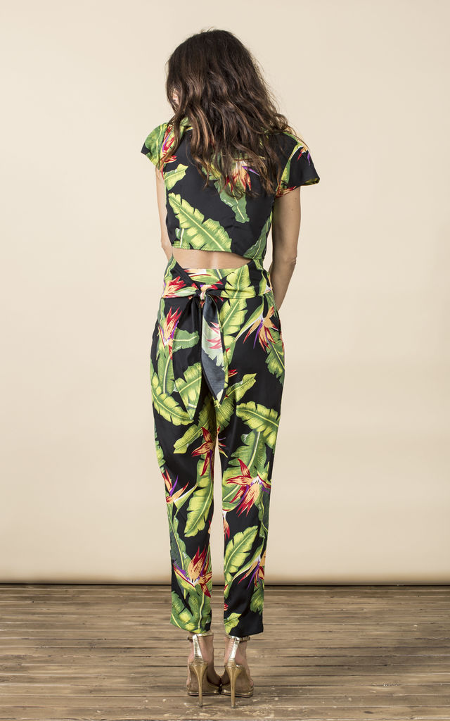 Fabiana Pants in Banana Leaf image